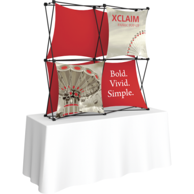 Xclaim Fabric Displays